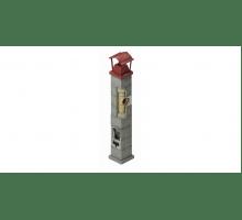 Керамический дымоход ECOOSMOSE NISOTT D=140 мм. Одноходовая 9 пм