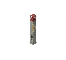 Керамический дымоход ECOOSMOSE NISOTT D=160 мм. Одноходовая 12 пм