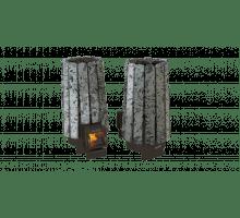 Дровяная банная печь Grill'D Cometa 180 Vega Long Stone
