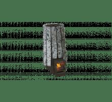 Дровяная банная печь Grill'D Cometa 180 Vega Short Stone