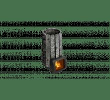 Дровяная банная печь Grill'D Cometa 180 Vega Short Window Max Stone