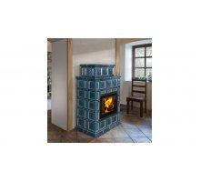 Изразцовая печь-камин Hein Baracca OU керамика с теплообменником