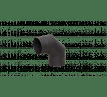 Отвод LAVA черный 90 Д120 сталь 2,0 мм