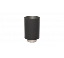 Стакан LAVA черный, Д120/200 сталь 0,7 мм + нерж 1 мм