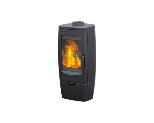 Отопительная печь Plamen GALA, черная