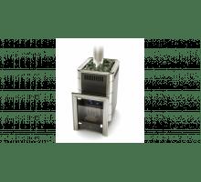 Газо-дровяная печь Термофор Уренгой-2 Inox БСЭ антрацит НВ